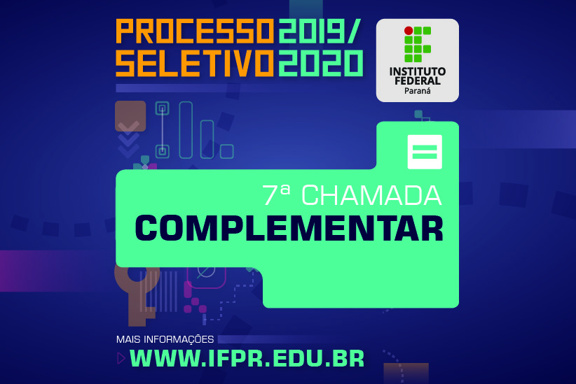 7 Chamada Complementar